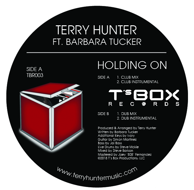 T Hunter & Barbara Tucker/HOLDING ON 12""