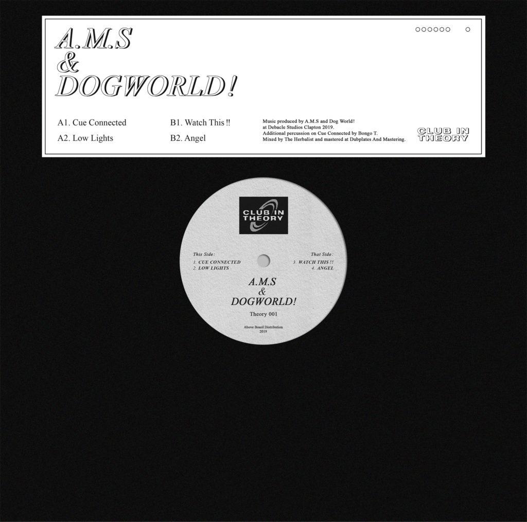 "A.M.S & Dogworld/THEORY001 12"""