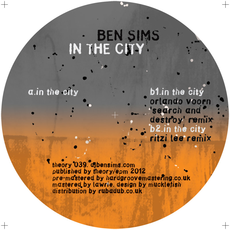 """Ben Sims/IN THE CITY 12"""""""