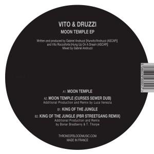 "Vito & Druzzi/MOON TEMPLE & REMIXES 12"""