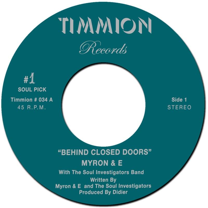 "Myron & E/BEHIND CLOSED DOORS 7"""