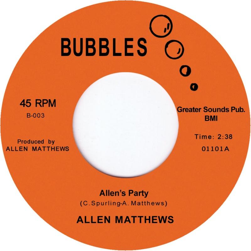 "Allen Matthews/ALLEN'S PARTY 7"""