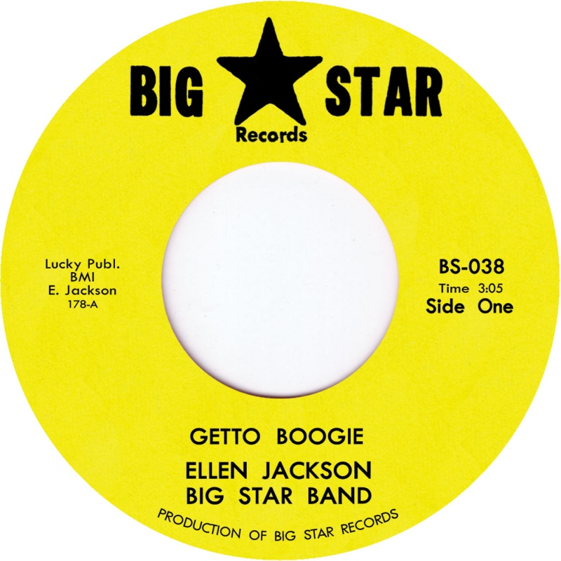 Ellen Jackson Big Star/GETTO BOOGIE 7""
