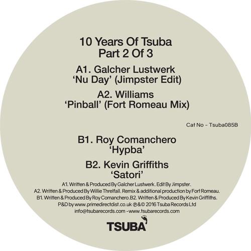 "Various/10 YEARS OF TSUBA PART 2 12"""