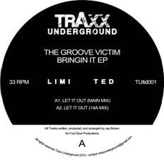 """Groove Victim/BRINGING IT EP 12"""""""
