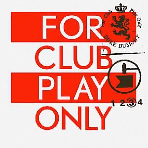 "Duke Dumont/FOR CLUB PLAY ONLY PT. 3 12"""