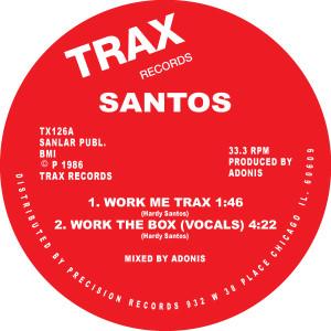 "Santos/WORK THE BOX 12"""