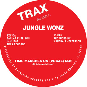 Jungle Wonz/TIME MARCHES ON 12""