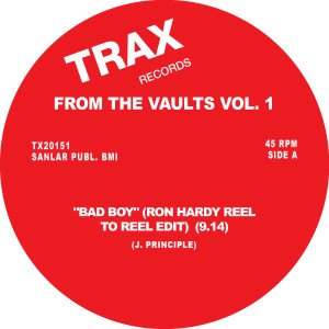 Various/TRAX: FROM THE VAULTS VOL. 1 12""