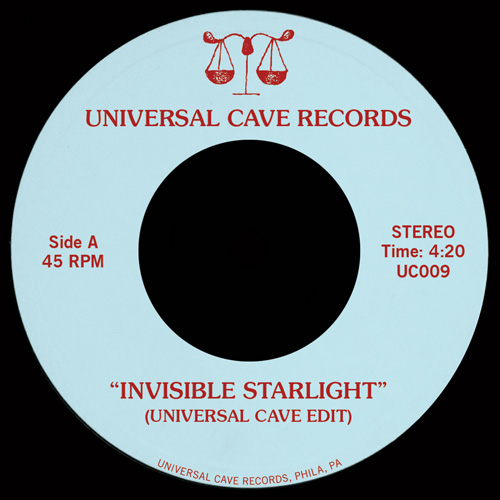 Universal Cave/INVISIBLE STARLIGHT 7""