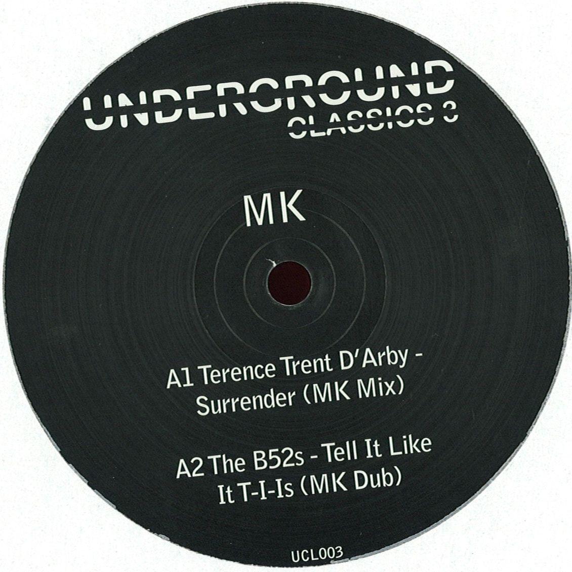 """MK/UNDERGROUND CLASSICS VOL. 3 EP 12"""""""