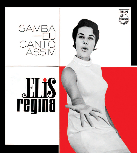 Elis Regina/SAMBA EU CANTO ASSIM 1965 LP