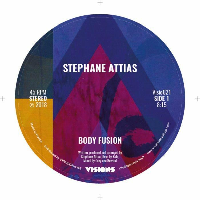 "Stephane Attias/BODY FUSION-SUNSET 12"""