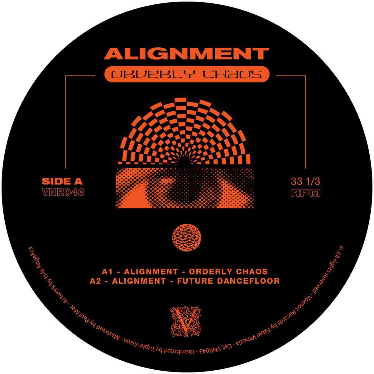 """Alignment/ORDERLY CHAOS 12"""""""