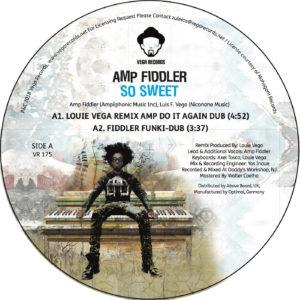 """Amp Fiddler/SO SWEET (LOUIE VEGA RX) 12"""""""