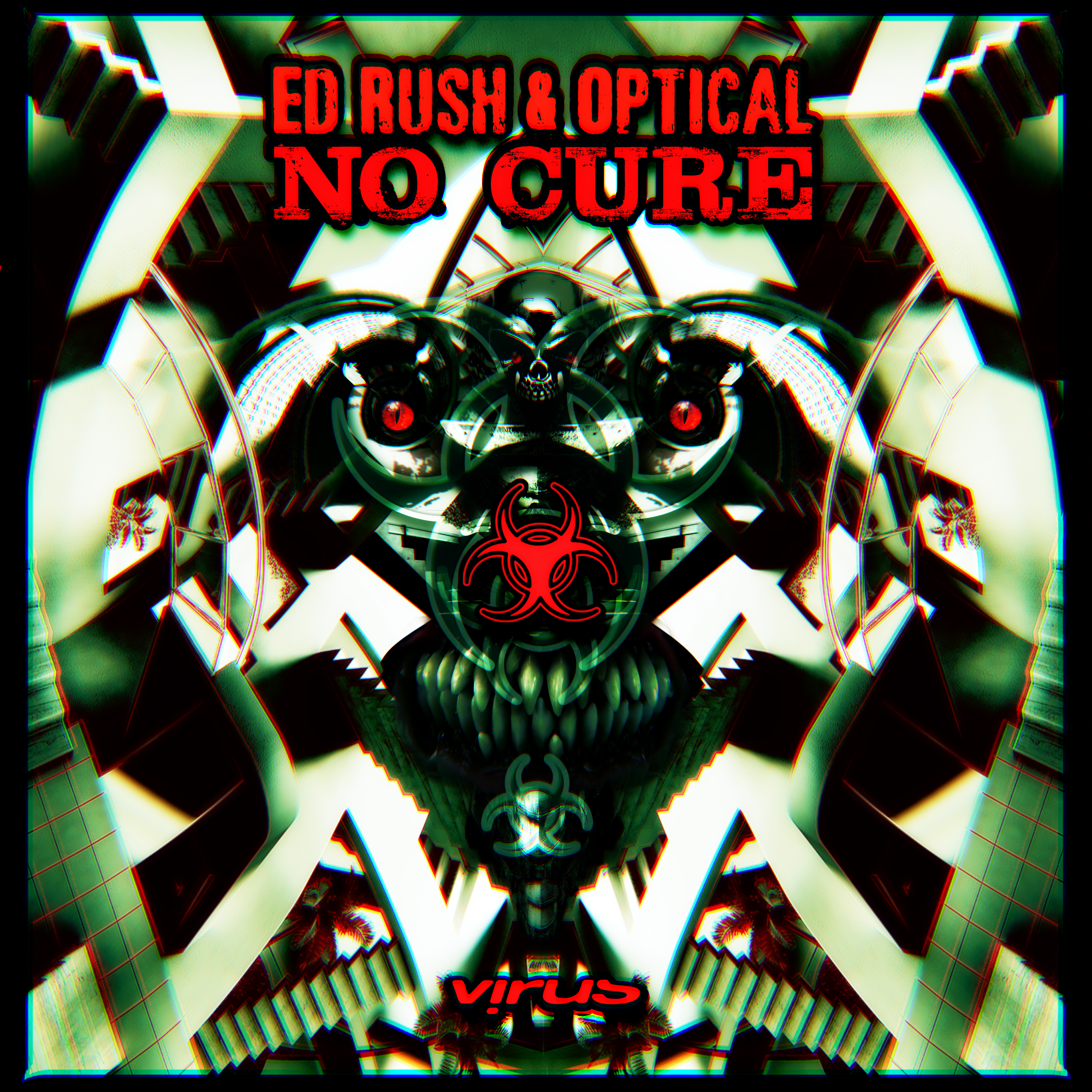 Ed Rush & Optical/NO CURE CD