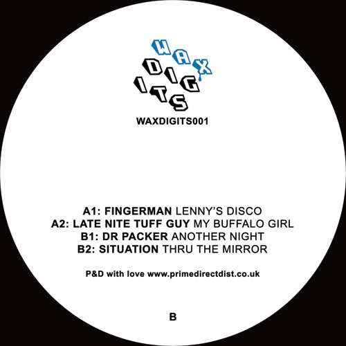 Various/WAX DIGITS 001 12""