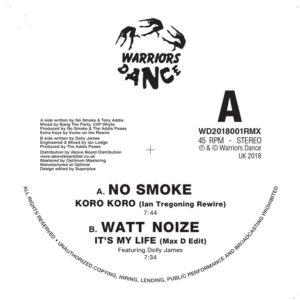 "Various/WARRIORS DANCE: WD2018001RMX 12"""