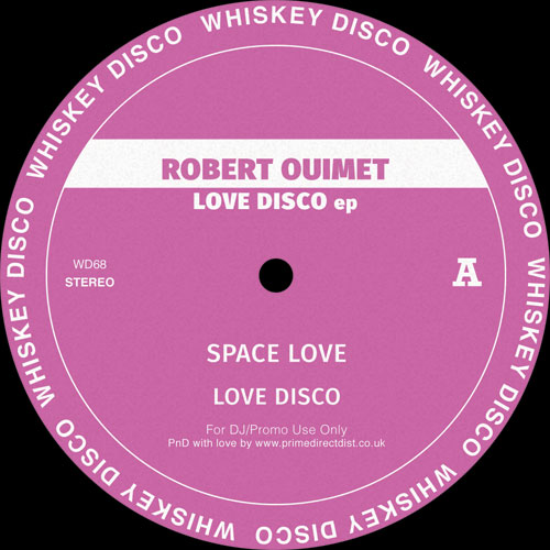 Robert Ouimet/LOVE DISCO EP 12""