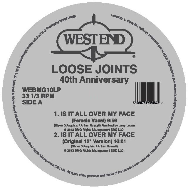 "Loose Joints/IS IT ALL OVER MY D12"" + 7"""