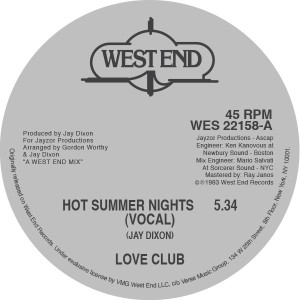 Love Club/HOT SUMMER NIGHTS 12""