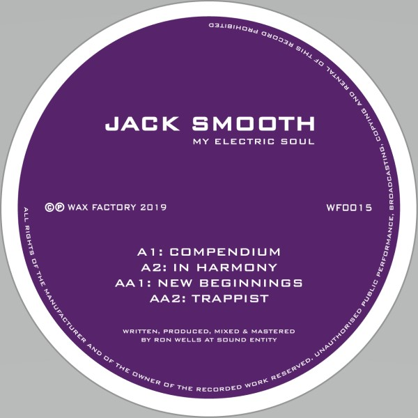 Jack Smooth/MY ELECTRIC SOUL 12""