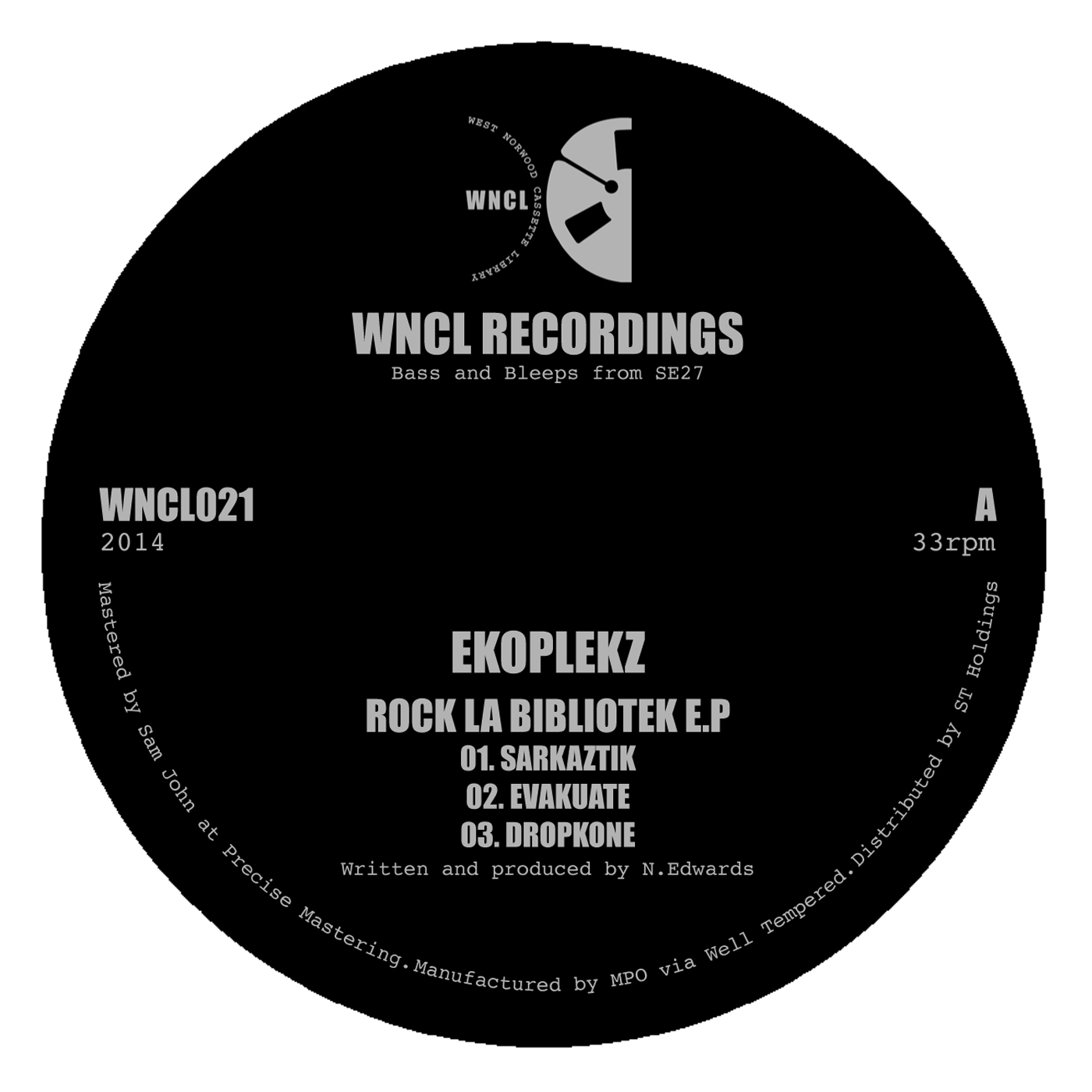 """Ekoplekz/ROCK LA BIBLIOTEK EP 12"""""""