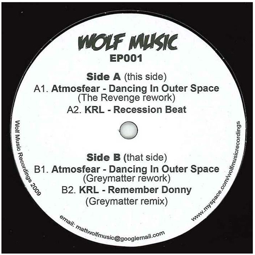 Various/WOLF EP 1 12""