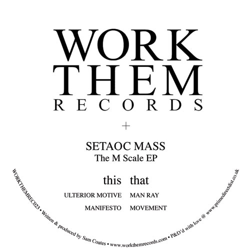 Setaoc Mass/THE M SCALE EP 12""