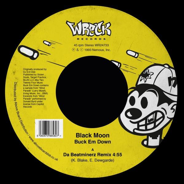 "Black Moon/BUCK EM DOWN REMIX 7"""