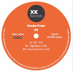 "Hauke Freer/XK 12"""