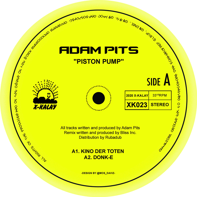 "Adam Pits/PISTON PUMP (BLISS INC RX) 12"""