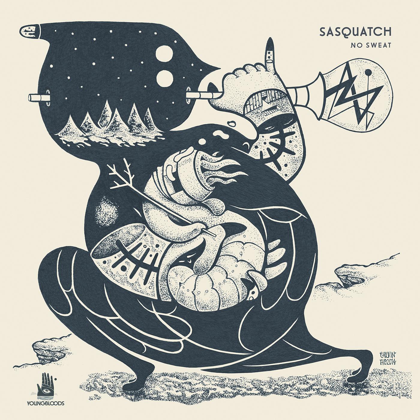 "Sasquatch/NO SWEAT EP 12"""