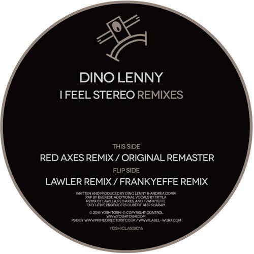 """Dino Lenny/I FEEL STEREO REMIXES 12"""""""