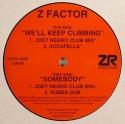 """Z Factor/WE'LL KEEP CLIMBING 12"""""""