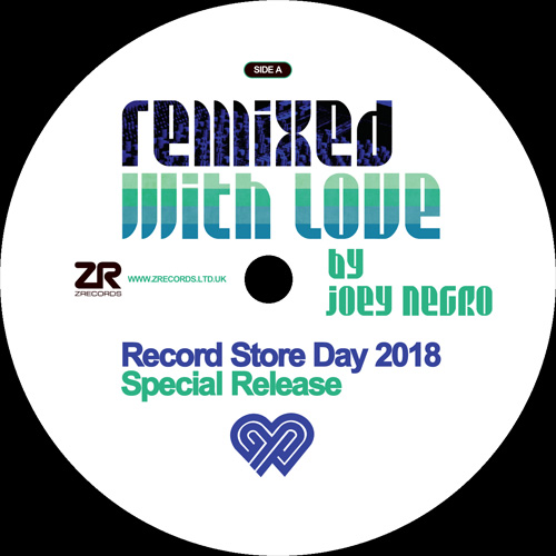"""Joey Negro/REMIXED WITH LOVE:RSD2018 12"""""""