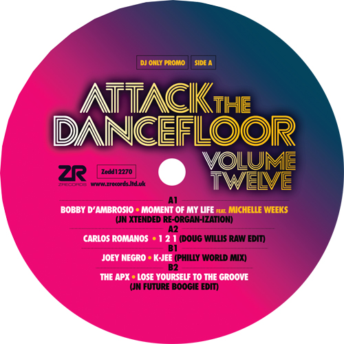 Various/ATTACK THE DANCEFLOOR VOL 12 12""