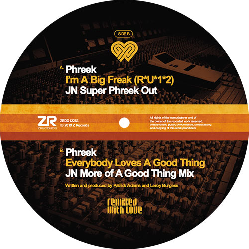 Phreek/I'M A BIG FREAK (JN REMIX) 12""