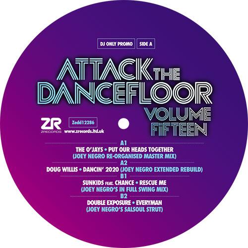"Various/ATTACK THE DANCEFLOOR VOL 15 12"""