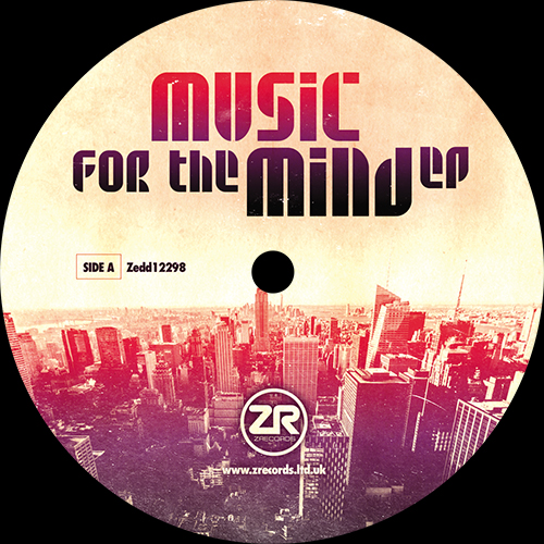 """Dave Lee/MUSIC FOR THE MIND EP 12"""""""