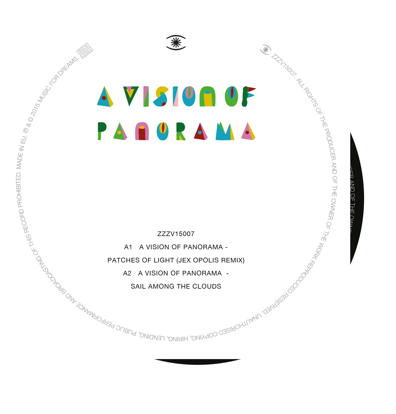 Vision Of Panorama/PATCHES OF LIGHT 12""