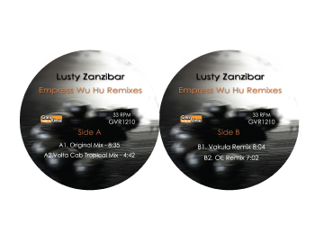 Lusty Zanzibar/EMPRESS WU HU REMIXES 12""