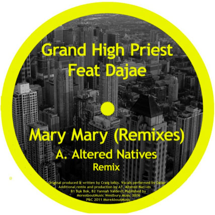 """Grand High Priest/MARY MARY REMIXES 12"""""""