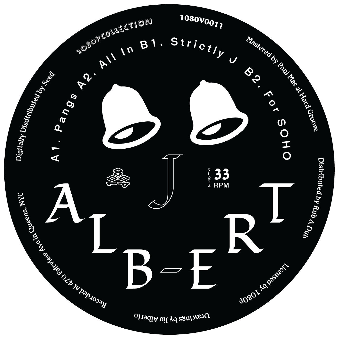 J. Albert/STRICTLY J EP 12""