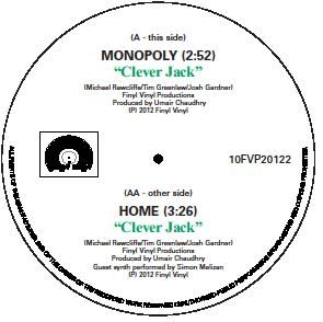 Clever Jack/MONOPOLY & HOME (GREEN) 10""