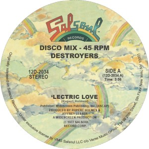 Destroyers/LECTRIC LOVE 12""