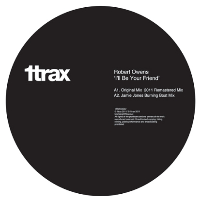 Robert Owens/I'LL BE YOUR FRIEND RMX 12""