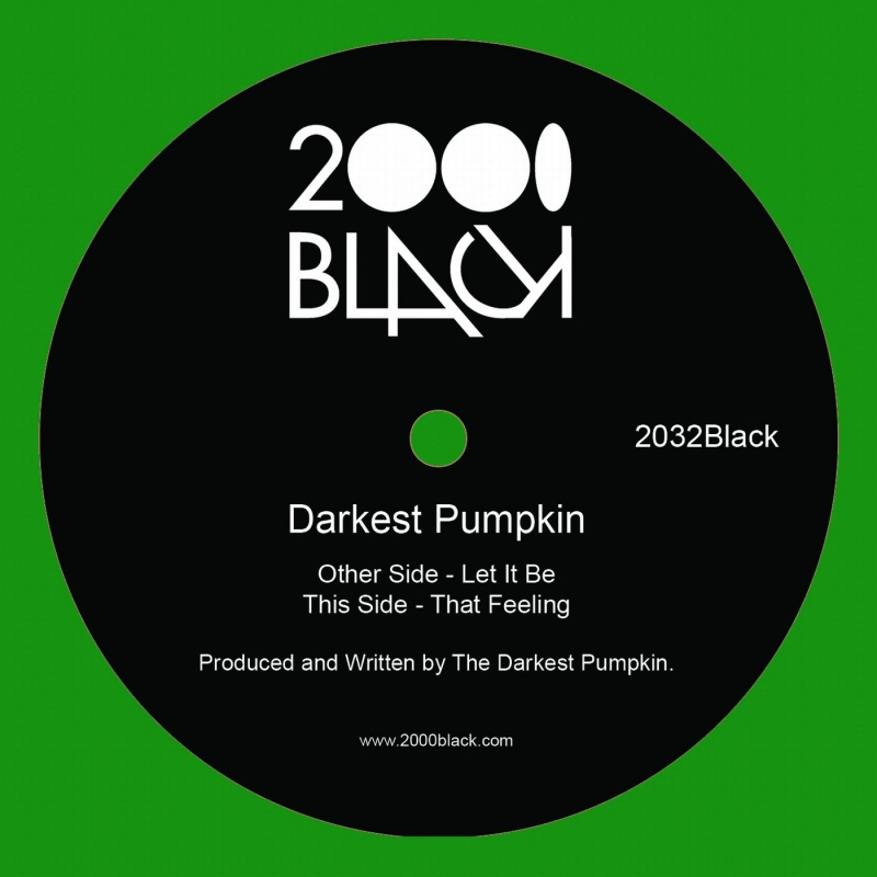Darkest Pumpkin/LET IT BE 12""