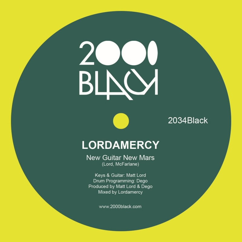 Lordamercy/NEW GUITAR NEW MARS 12""