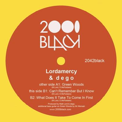 "Lordamercy & Dego/GREEN WOODS 12"""